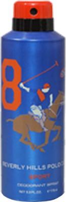 Beverly Hills Polo Club Sport 8 Deodorant Spray  -  For Men