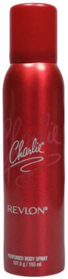 Revlon Charlie Red Perfumed Body Spray  -  For Men