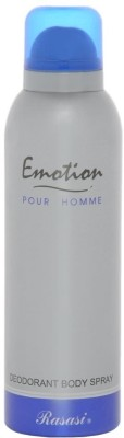 Rasasi Emotion Deodorant Spray  -  For Men