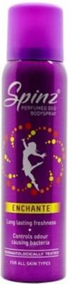 Spinz Enchante perfumed Deodorant for girls Body Spray  -  For Girls