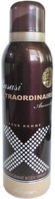 Rasasi Xtraordinaire Body Spray  -  For Men