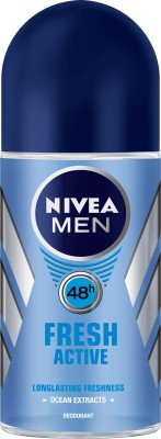 Nivea Roll-on Fresh Active Deodorant Roll-on  -  For Men