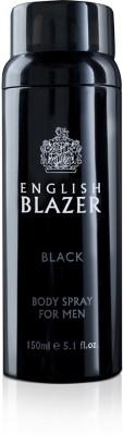 English Blazer Black Body Spray  -  For Men