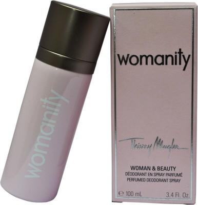 Thiery Mugler Womanity Deodorant Spray  -  For Women