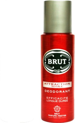 Brut Total Deodorant Spray - For Boys, Men