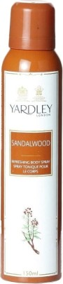 Yardley London Sandalwood Deodorant Spray - For Women  (150 ml)