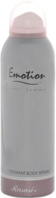 Rasasi Emotion Deodorant Spray  -  For Women