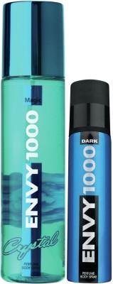 Envy1000 Magic Crystal Deo 135 Ml & Dark Spray Nano 40 Ml Deodorant Spray - For Women(175 ml)