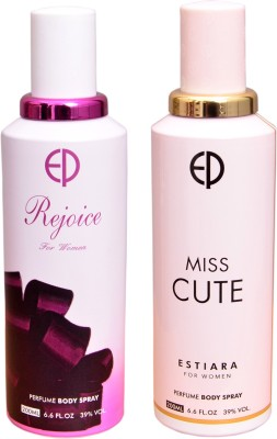 ESTIARA 1 REJOICE::1 MISS CUTE Deodorant Spray  -  For Men
