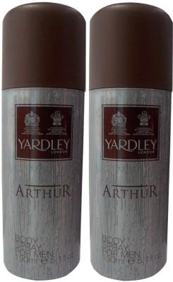 Yardley London Arthur Body Spray  -  For Men