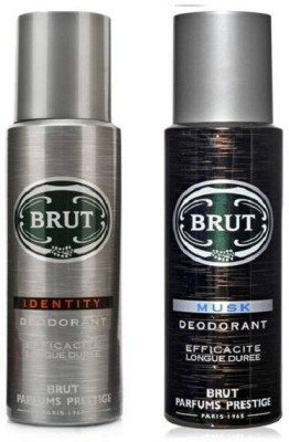 Brut Identity Musk Body Spray  -  For Men