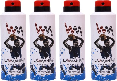 LAWMAN 4 Freestyler Deodorant Spray  -  For Men