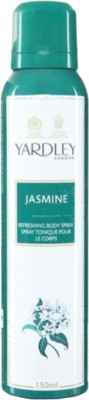 Yardley London Jasmine Deodorant Spray - For Women  (150 ml)