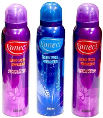 Konect Exotica,Glamour,Exotica Deodorant Spray  -  For Women
