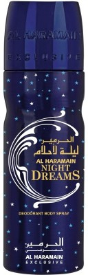 Al Haramain Night Dreams Body Spray  -  For Men
