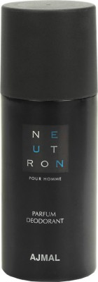 Ajmal Neutron Deodorant Spray  -  For Men