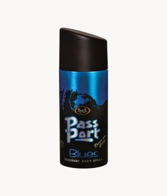 Monet Passport Blues Deodorant Spray  -
