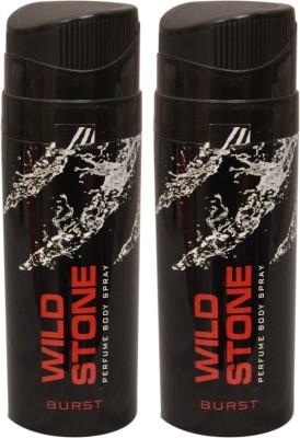 Wild Stone 2 Burst Deodorant Spray  -  For Men