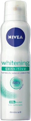 Nivea whitening sensitive Body Spray - For Men & Women  (150 ml)