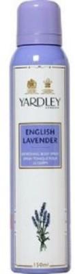 Yardley London Enlish Lavender Deodorant Spray  -  For Girls, Women