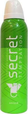 Secret Temptation Affair Deodorant Spray  -  For Women