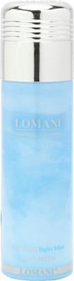 Lomani Light Blue Deodorant Spray  -  For Women