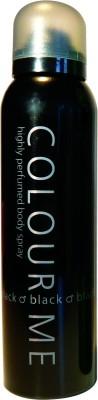 Colour Me Black Deodorant Spray  -  For Men