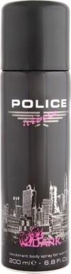 Police Woman Dark Deodorant Spray -