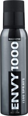 ENVY 1000 Magnetic Deo 130 Ml Deodorant Spray  -  For Men