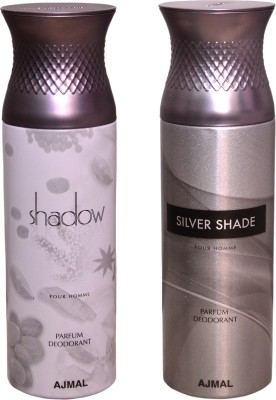 AJMAL 1 SHADOW FOR HIM::1 SILVER SHADE Deodorant Spray  -  For Women