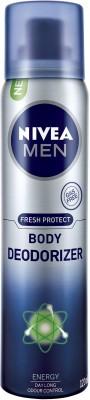 Nivea Fresh Protect Energy Deodorizer Body Spray  -  For Boys, Men