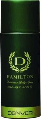 Denver Hamilton Deodorant Spray - For Men(115 g)