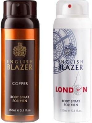 english blazer copper and london Deodorant Spray  -  For Men, Boys