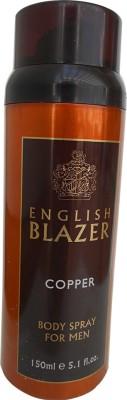 English Blazer Copper Deodorant Spray  -  For Men