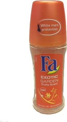 Fa Exotic Garden Fruity Scent 48hrs Skin Friendly Deodorant Roll-on  -  For Women