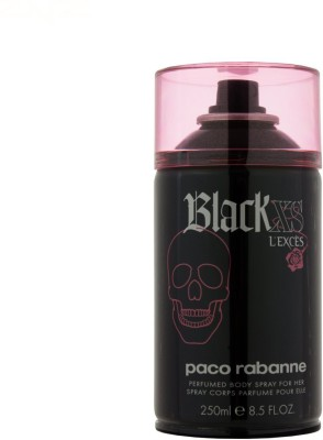 Paco Rabanne Black Xs L, Exces Deodorant Spray  -  For Girls, Women