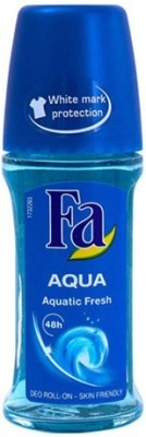 Fa Aqua Aquatic Fresh Deodorant Roll-on  -  For Men