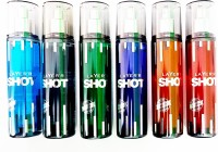 Layer shot set of 6 fragrances Perfume Body Spray  -  For Boys, Men