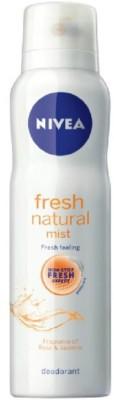 Nivea Fresh Natural Mist Deodorant Spray  -  For Women