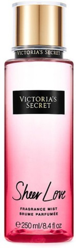 Victoria's Secret New Sheer Love Fragrance Body Mist  -  For Girls, Women(250 ml)