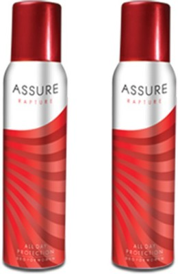 Assure Rapture All Day Protection Body Spray  -  For Women, Girls