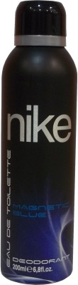 Nike Magnetic Blue Deodorant Spray - For Men