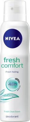 Nivea Fresh Comfort Deodorant Spray  -  For Women