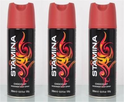 Stamina Chocolate Deodorant Spray  -  For Men