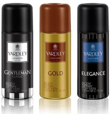 Yardley London Gentleman+Elegance+Gold Body Spray  -  For Men