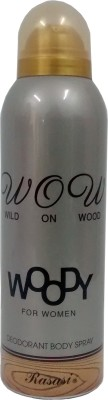 Rasasi Woody Deodorant Spray  -  For Women
