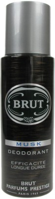 Brut Musk Deodorant Spray - For Men