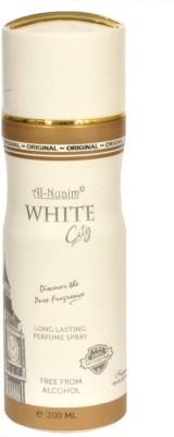 Al-Nuaim White City Body Spray  -  For Men, Women