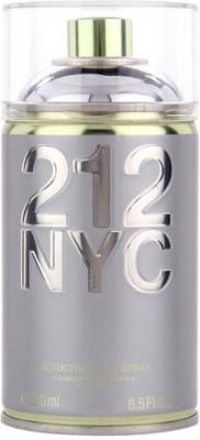 212 Nyc Deodorant Spray  -  For Girls