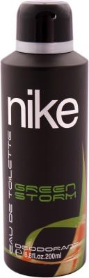 Nike Green Storm Deodorant Spray  -  For Men